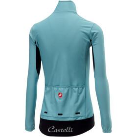 Castelli Perfetto Koszulka kolarska, długi rękaw Kobiety niebieski